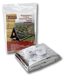Grizzly Gear Emergency Survival Mylar Thermal Tube Tent