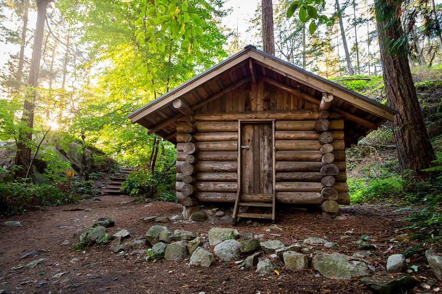 Cheap Cabins To Build Yourself Inexpensive Small Cabin: How To Build An Awesome Yet Amazingly Cheap DIY Log Cabin