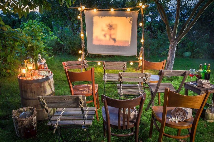 What You Need For Your Backyard Cinema