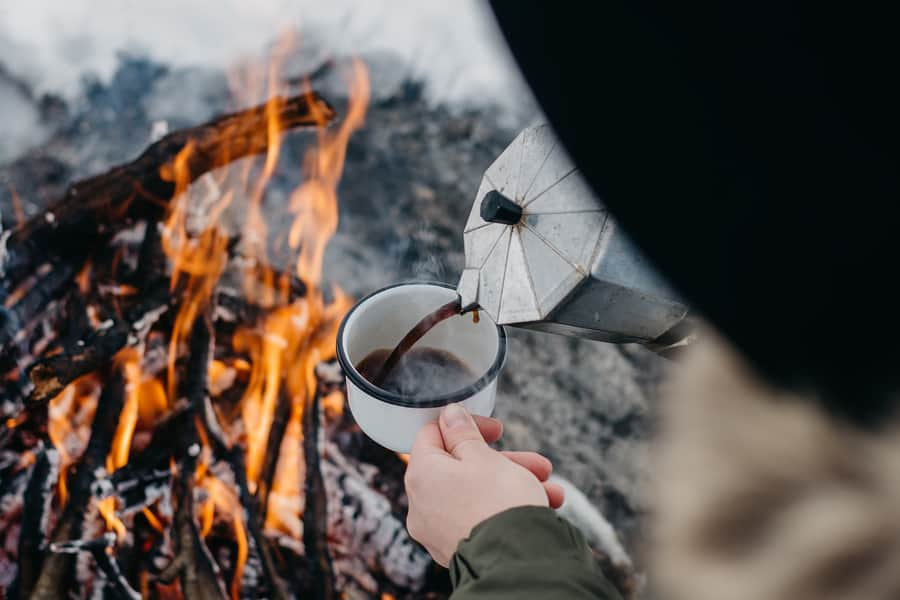 How to Brew Coffee Outdoors